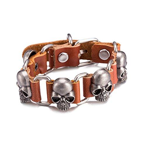 gnzoe-donna-uomo-matrimonio-bracciale-da-donna-acciaio-inossidabile-leather-skull-argento-lunghezza-