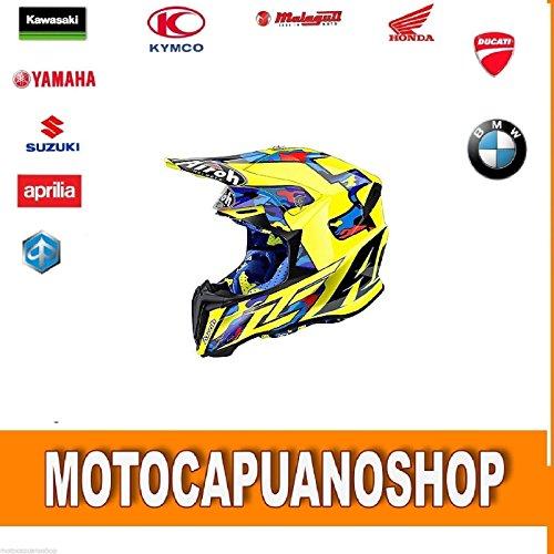 CASCO MOTO ENDURO CROSS MOTARD OFFROAD AIROH TWIST TC16 CAIROLI TAGLIA M