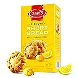 Tims Feines Shortbread Zitrone 165 g I Original Kanadisches Shortbread I Buttriges, süßes Mürbteig-Gebäck ohne Konservierungsstoffe I Traditionelle kanadische Backwaren Made in Germany
