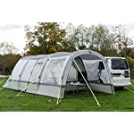 OLPRO Outdoor Leisure Products Cocoon Extension 3.5m x 1.8m Inflatable Drive Away Campervan Awning Porch Extension for Cocoon Breeze Sage Green & Chalk 8