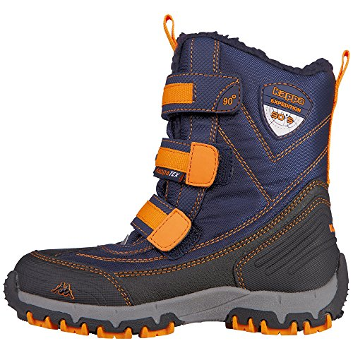 Kappa Unisex-Kinder Ben Tex Kids Kurzschaft Stiefel, Blau (6744 Navy/Orange), 29 EU