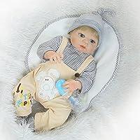 Nicery Bambola, migliore rinato Creatore di Bambola!Questa è una bambola arte perfetta progettata da un famoso artista. Bambola rinascimentale sveglia e vera e propria.È composto da vinile in silicone di simulazione di alta qualità. Comodo to...