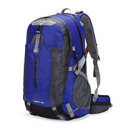 Docooler 40L wasserdichte Outdoor Reise Rucksack Bergsteigen Tasche Camping Wandern Ranzen mit Regenabdeckung 3
