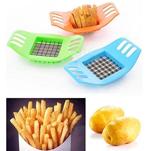 Trituratore per patate, pratico e multifunzione, per frittura e verdura, utensile da cucina, colore casuale taglia libera random color