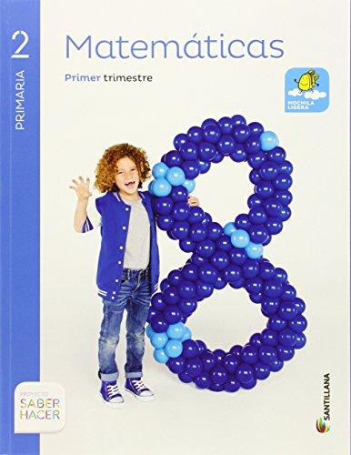MATEMATICAS 2 PRIMARIA SABER HACER - Pack de 3 libros - 9788468025476