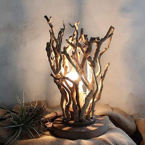 AAXX Rama lámpara de Mesa Pre-Lit Blanco cálido Iluminado Cerezo del Flor con Brown del Tronco y Las Ramas (Apto for Interior/Exterior)
