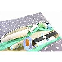 XXL Windeltasche Wickeltasche, mit vielen Fächern und Reißverschluss. Versandfertig, gerne auch in anderen Farben. Bitte anfragen.