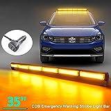 LED Strobe Light Bar,Amber waarschuwingsbaken licht voor vrachtwagen auto mini bar noodgevaar flitslicht
