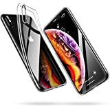 """ESR Clear Case for iPhone XS Case/ iPhone X Case, Slim Soft TPU Flexible Silicone Cover [Supports Wireless Charging] for 5.8"""" iPhone XS/iPhone X, Clear"""