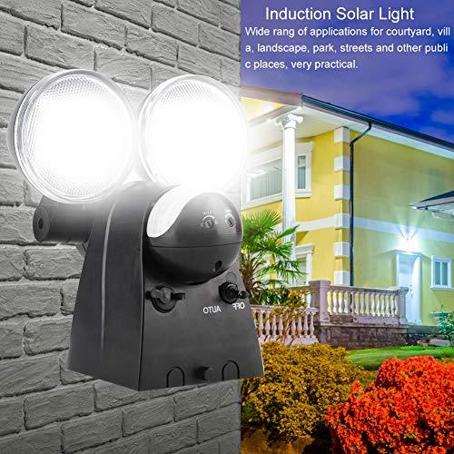 Especificación: Condición: 100% nuevo Material: Plástico Fuente de luz: 120LED Potencia nominal: 6W Energía del panel solar: 6V / 1.2W Batería incorporada:: 1pcs 3.7V 2000mA Batería de ión de litio Altura de instalación: 1 ~ 3 metros / 3.3 ~ 9.8 pies...
