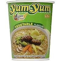 Yum Yum Instant Noodles Cup Vegetable - Paquete de 12 x 70 gr - Total: 840 gr