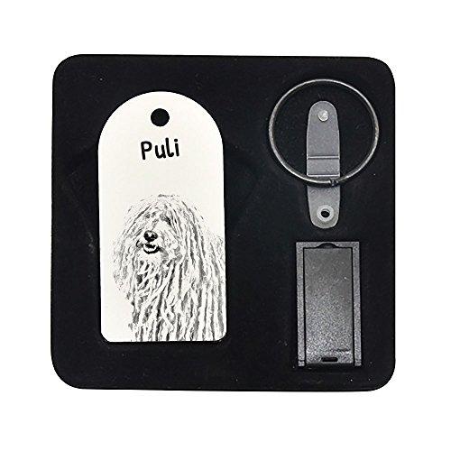 Puli, 8GB chiavetta, ciondolo con l'immagine di un cane
