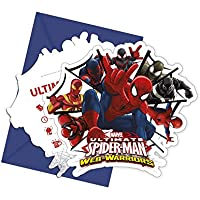 amazon co uk spider man invitations party supplies toys games