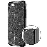Partong Coque iphone SE,Coque iphone 5S Transparente Strass,Premium Brillante...