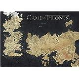 Pyramid International Juego de Tronos Mapa de Westeros y Essos - Póster gigante (10 x 140 x 1,3 cm)