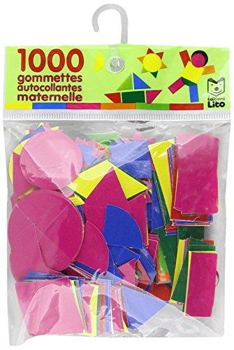 1000 gommettes autocollantes Maternelle - De 3 à ...