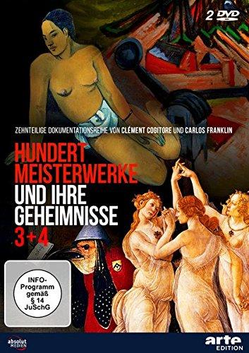 Hundert Meisterwerke und ihre Geheimnisse 3+4 [2 DVDs] Arte Kunst