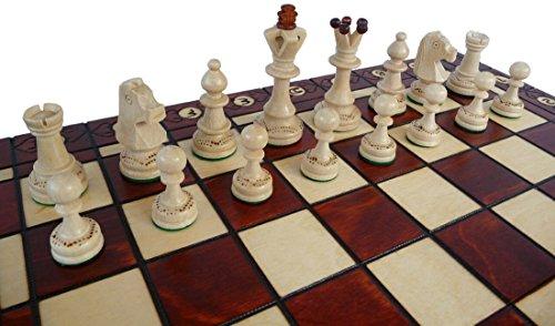 ChessEbook Schachspiel SENATOR 40 x 40 cm Holz von ChessEbook
