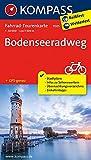 Bodenseeradweg: Fahrrad-Tourenkarte. GPS-genau. 1:50000. (KOMPASS-Fahrrad-Tourenkarten, Band 7005)