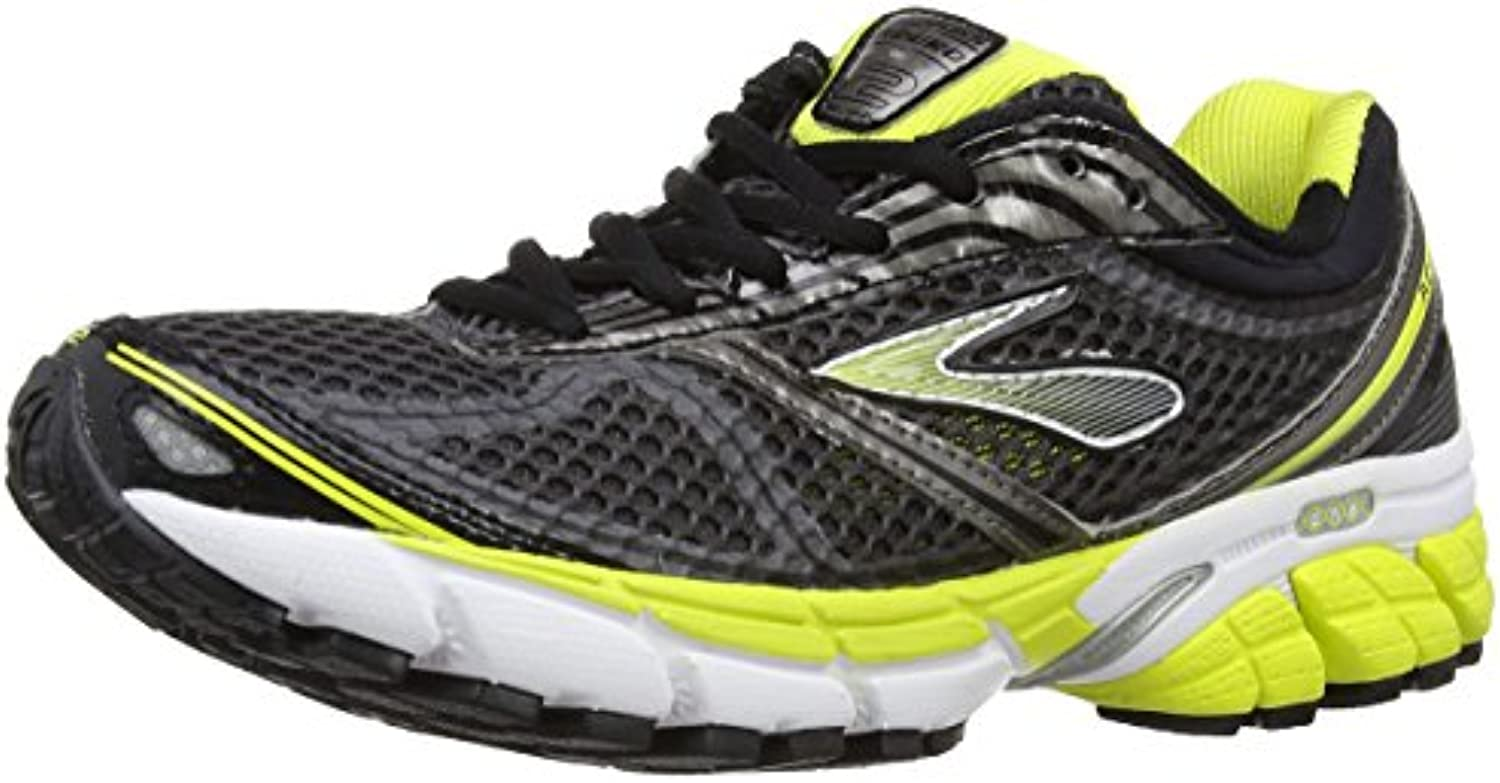 Browar Timing Systems Aduro 2 - Zapatillas de running, color negro (Black/Anthracite/Sulphur Spring), talla 42.5