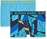 Björn Borg Men's 2p Bb Leaf Boxer Shorts