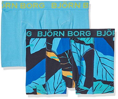 bjorn-borg-2p-short-shorts-bb-leaf-boxer-para-hombre-blue-blue-peacoat-medium