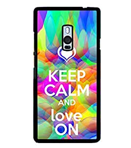 ifasho Designer Phone Back Case Cover OnePlus 2 :: OnePlus Two :: One Plus 2 ( Deer Face Classic Look Prisma Look )