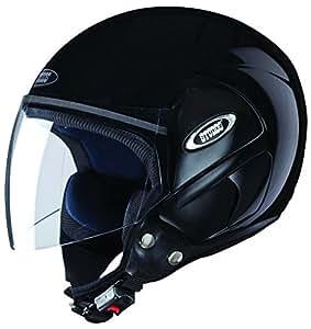 Studds Cub SUS_COFH_BLKL Open Face Helmet (Black, L)