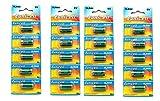 Eunicell 4LR44 Alkaline-Batterien für Hundehalsband, 6 V, 20 Stk.