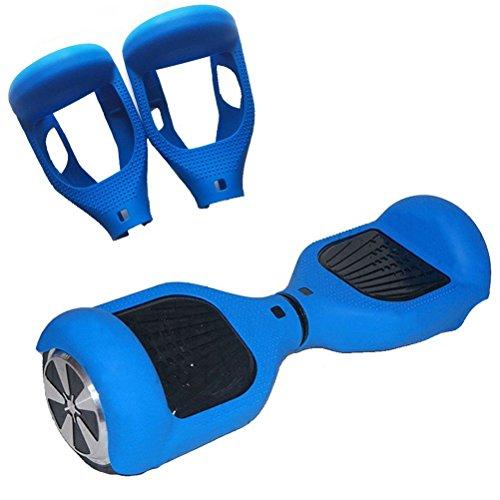[WheelElite] Caso de silicona protector de arañazos, Envoltura cubierta de goma, Piel protectora Patinetas eléctricas de 6,5pulgadas Board 2ruedas scooter de equilibrio