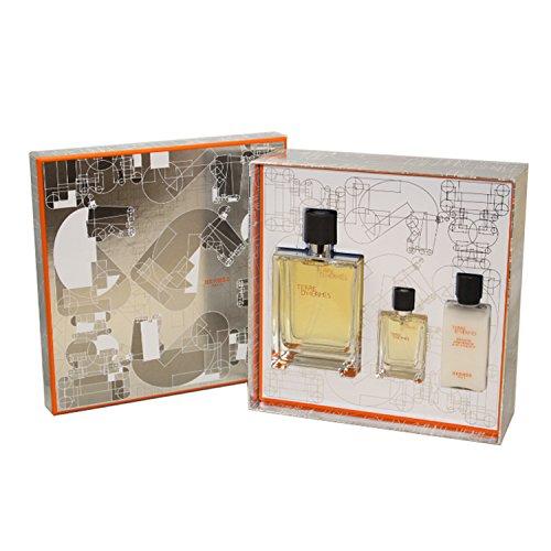 Hermes Terre D Hermes Eau De Toilette Spray Gift Set For Men, 3.3 Ounce