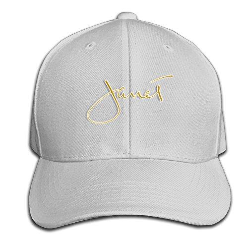 Damen Mützen Janet Jackson Schwarz Golf Personalisierte Gap - Grau - Einheitsgröße