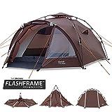 Slumit GOBI 3 Instant Tent 3 Man Waterproof Double Layer FlashFrame Quick Pitch