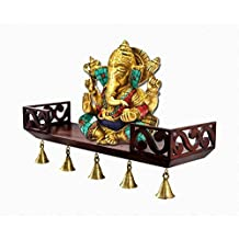 """Aarsun Woods Hand Crafted Beautiful Wall Shelf   Wall Bracket ,18"""" X 6"""" X 3"""" Inches"""