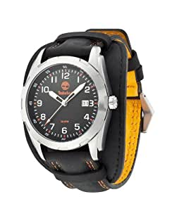 Timberland - TBL.13330JS/02 - Newmarket - Montre Homme - Quartz Analogique - Cadran Multicolore - Bracelet Cuir Noir