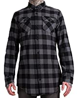 Criminal Damage Jack Long Shirt Grey