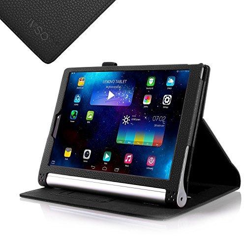 IVSO Lenovo Yoga 2 Pro 33,78 cm Flip Case - Folio Book Style Tasche für Lenovo Yoga 2 Pro 33,78 cm Tablets schwarz for Lenovo Yoga 2 10.1-Inch