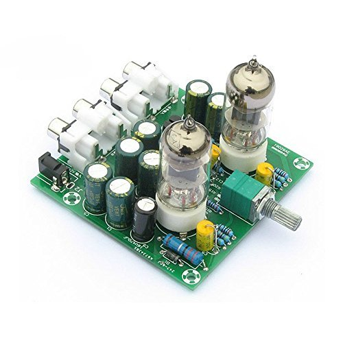 Lysignal Fever 6J1 Tube Amplifiers Board Preamplifier Headphone Pre-Amp Amplifier Audio Board DIY Kits Audio-input-kit