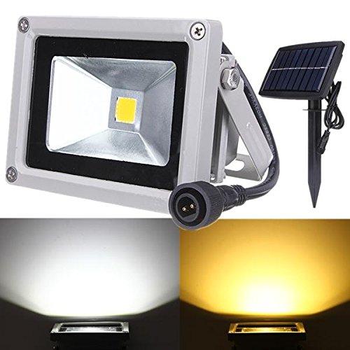 Global 10W Solar Power LED Flut Licht wasserdichte im Freien Landschaft Spotlight - Solar-power-outdoor-flut-licht