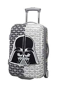 American Tourister Bagage Cabine Star Wars Legends Upright S Jazz, 55 cm, 27,5 L, Gris (Dark Vador)