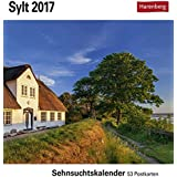 Sylt - Kalender 2017: Sehnsuchtskalender, 53 Postkarten