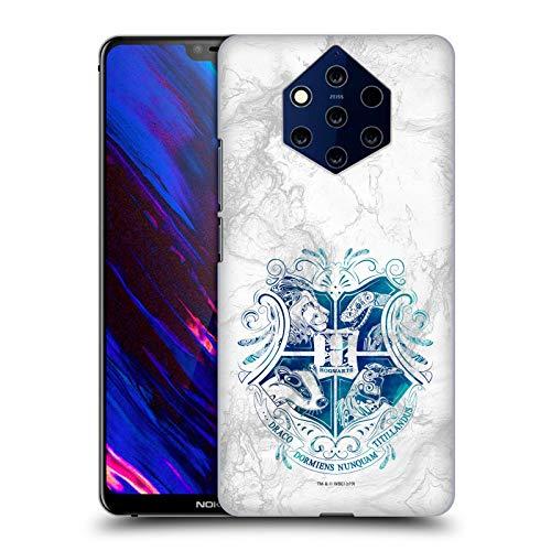 Head Case Designs Ufficiale Harry Potter Hogwarts Aguamenti Deathly Hallows IX Cover Dura per Parte Posteriore Compatibile con Nokia 9 PureView