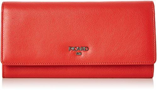Picard Damen Bingo Geldbörse, Rot (Koralle), 2.5x9.5x19.5 cm -