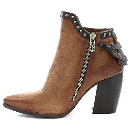 Monday Boots Airstep As98 À Castagna Talons 847203101 qPxg6f