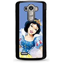 LG G4 Funda Case, Snow White Disney Simple Vintage Cool Pattern Compitable With LG G4