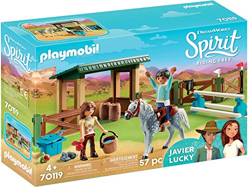 Playmobil- Paddock con Fortu y Javier Juguete