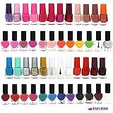 Set de 50 Esmalte de uñas 45+ colores diferentes Botella moderna de 6 ML
