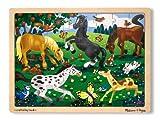 Melissa & Doug 13801 - Puzzle in Legno, Cavalli Giocosi