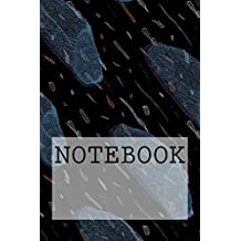 """Notebook: Blue Slug, Lake District. Dotted (6"""" x 9""""): Dotted Paper Notebook: Volume 1 (Augmented Reality Colouring Books of Great Britain)"""