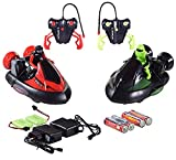 NANDANI Bump N Eject RC Bumper Cars with 2 Radio Control Vehicles- Remote